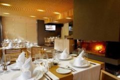 Камина в ресторант Ле Бистро | Lucky Bansko SPA & Relax