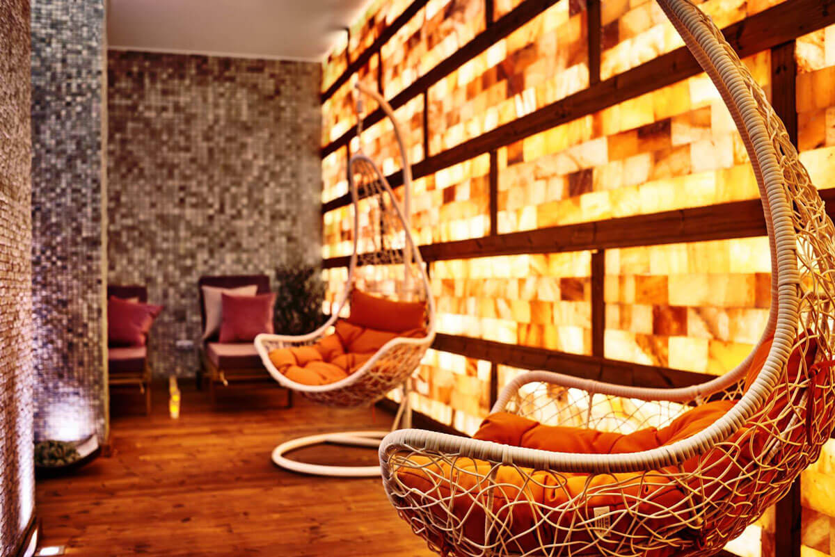 Solarium room at Aparthotel Lucky Bansko SPA & Relax