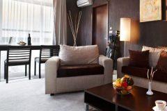 Дневна стая на Екзекютив апартамент | Lucky Bansko SPA & Relax