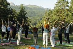Йога в планината | Lucky Bansko SPA & Relax