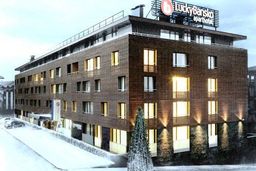 Ски хотел фасада | Lucky Bansko SPA & Relax