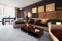 Апартхотел Лъки Банско СПА & Релакс | Екзекютив апартамент всекидневна