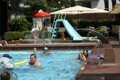 Открити басейни в хотел 7 | Lucky Bansko