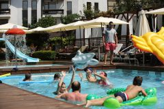 Открити басейни в хотел 9 | Lucky Bansko