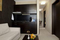 Апартхотел Лъки Банско СПА & Релакс | Апартамен Лукс хол и кухня