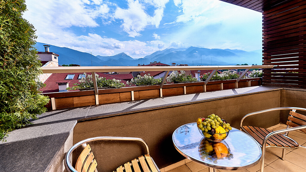 Executive Suite - balcony view | Lucky Bansko