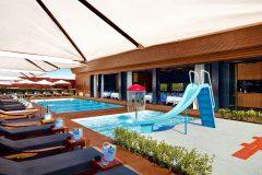 Апартхотел Лъки Банско СПА & Релакс | Външен летен басейн