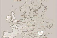 Апартхотел Лъки Банско СПА & Релакс | Карта на Европа