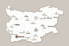 Апартхотел Лъки Банско СПА & Релакс | Карта на България