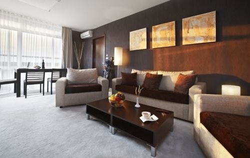 Апартхотел Лъки Банско СПА & Релакс | Снимка дневна апартамент Executive