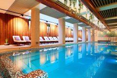 Апартхотел Лъки Банско СПА & Релакс | Голяма снимка на вътрешен басейн