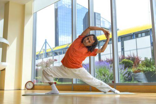 Апартхотел Лъки Банско СПА & Релакс | Снимка на йога гуруто Пракаш