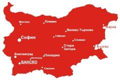 Карта на Банско | Lucky Bansko SPA & Relax