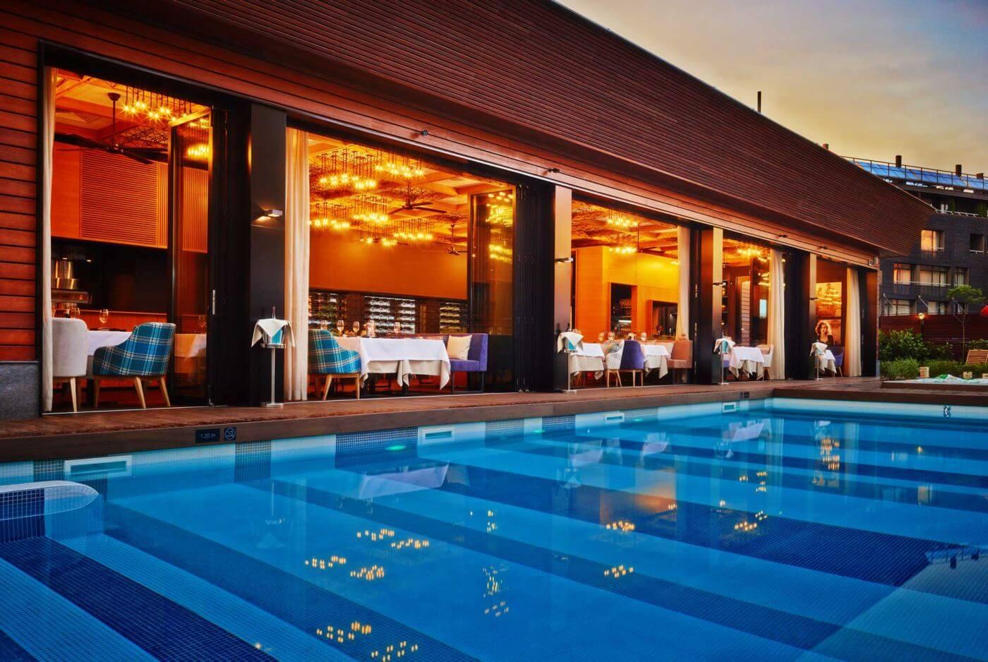 Piscine în aer liber | Aparthotel Lucky Bansko SPA & Relax