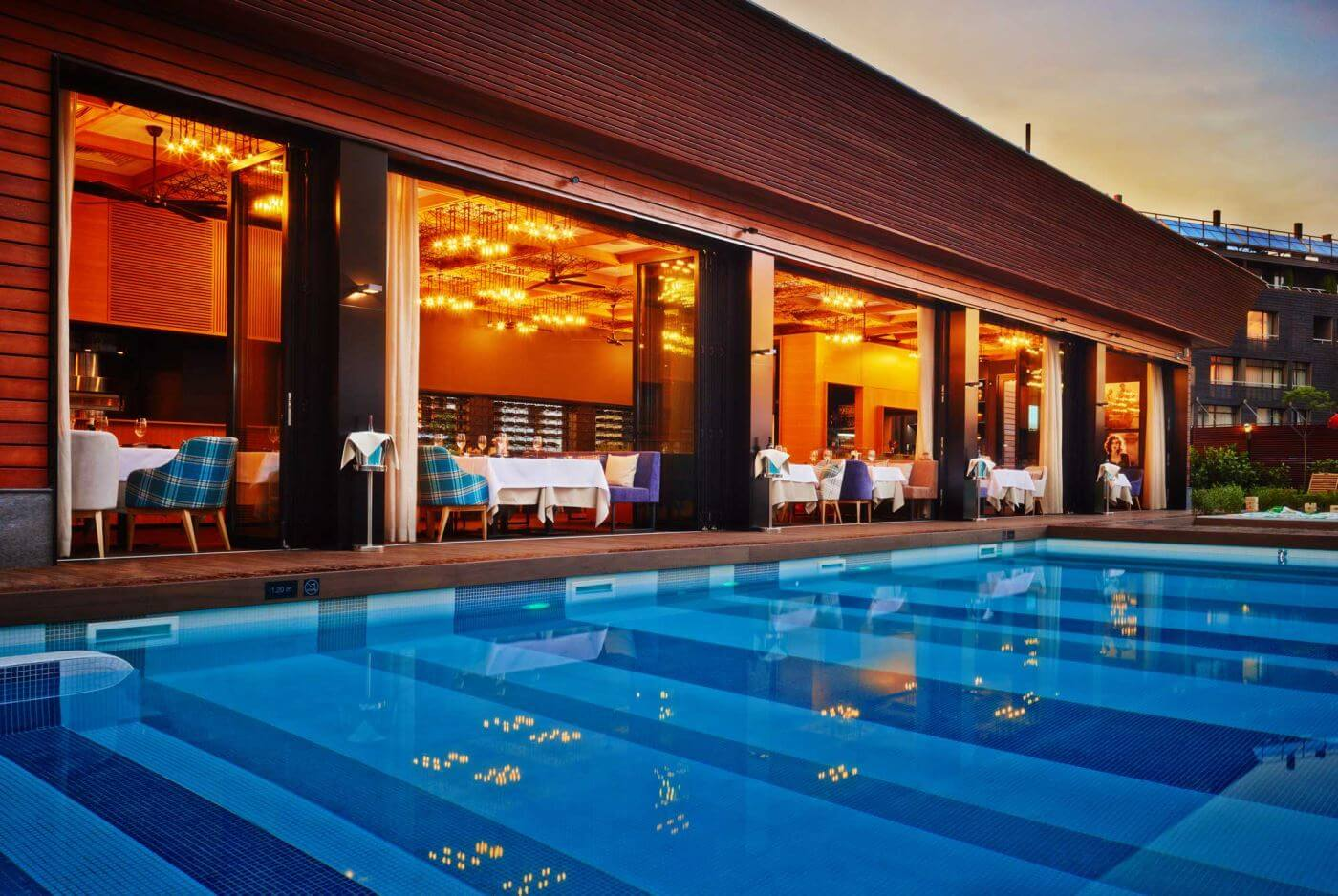 Открытые бассейны | Aparthotel Lucky Bansko SPA & Relax