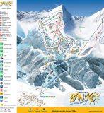 Карта на ски писти