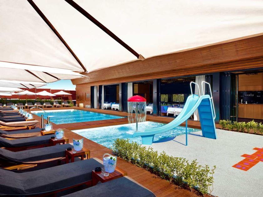 Външен басейн за деца | Lucky Bansko