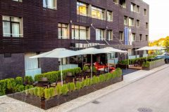 Апартхотел Лъки Банско СПА & Релакс | Главен вход на хотела