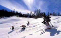 Апартхотел Лъки Банско СПА & Релакс | Снимка на ски писта