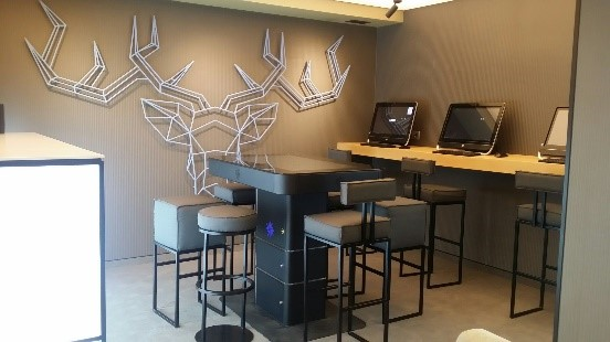 Компютърна зона във фойае | Лъки Банско СПА & Релакс