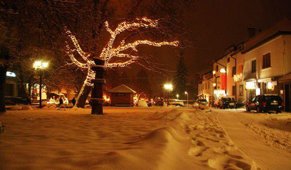 Bansko covered in snow | Lucky Bansko SPA & Relax