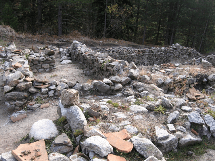 Excavations of ancient ruins in Bansko | Lucky Bansko