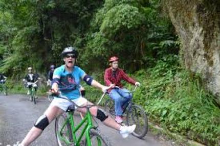 Bicicliști în munți | Lucky Bansko SPA & Relax
