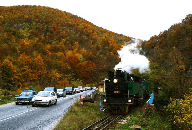 Steam locomotive in Bansko | Lucky Bansko SPA & Relax