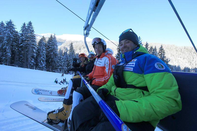 Селфи на ски лифт в Банско | Lucky Bansko SPA & Relax