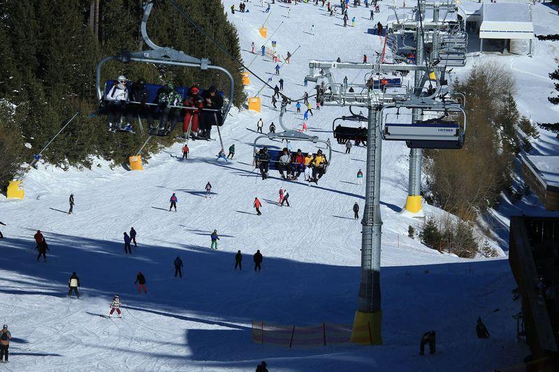 Снимка на ски лифт в Банско | Lucky Bansko SPA & Relax
