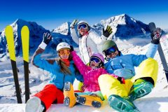 Семейство на зимна ски ваканция | Lucky Bansko SPA & Relax