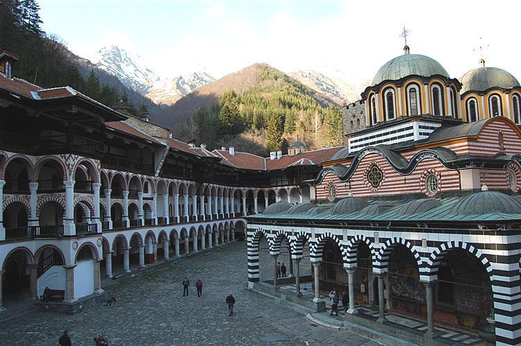 Mănăstirea Rila dinăuntru | Lucky Bansko SPA & Relax