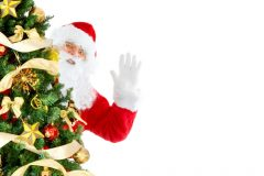 Дядо Коледа при елхата | Lucky Bansko SPA & Relax