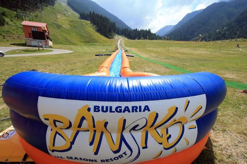 Waterslide in Bansko | Lucky Bansko SPA & Relax