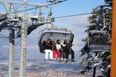 Деца пътуват с лифт | Aparthotel Lucky Bansko SPA & Relax