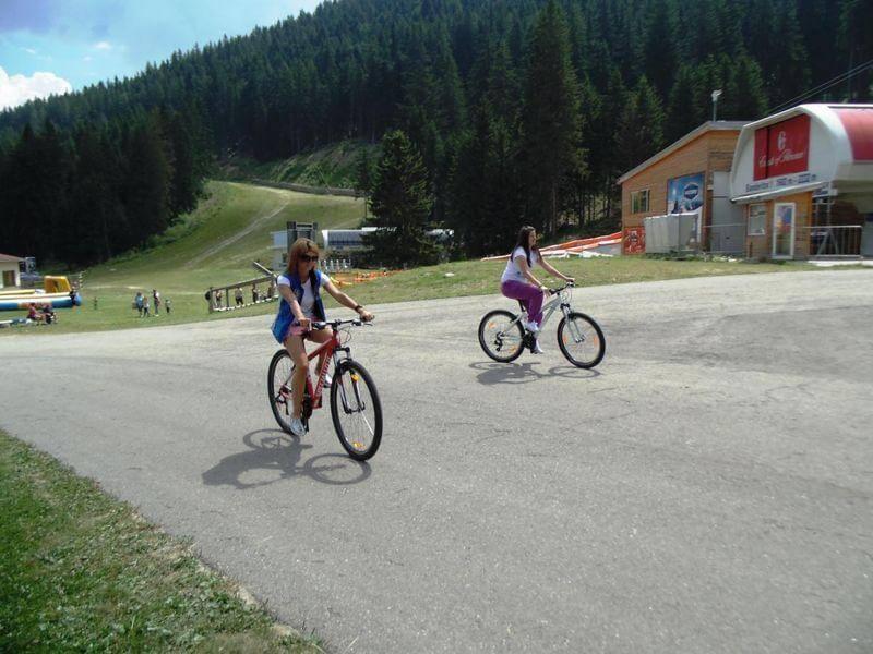 Bansko'da Bisiklete binme | Lucky Bansko SPA & Relax