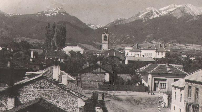 Old photo of the town of Bansko | Lucky Bansko SPA & Relax