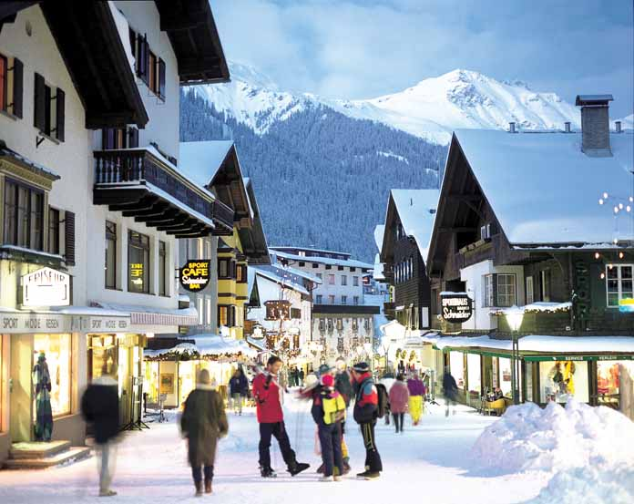 St. Anton ski resort in Austria | Lucky Bansko SPA & Relax