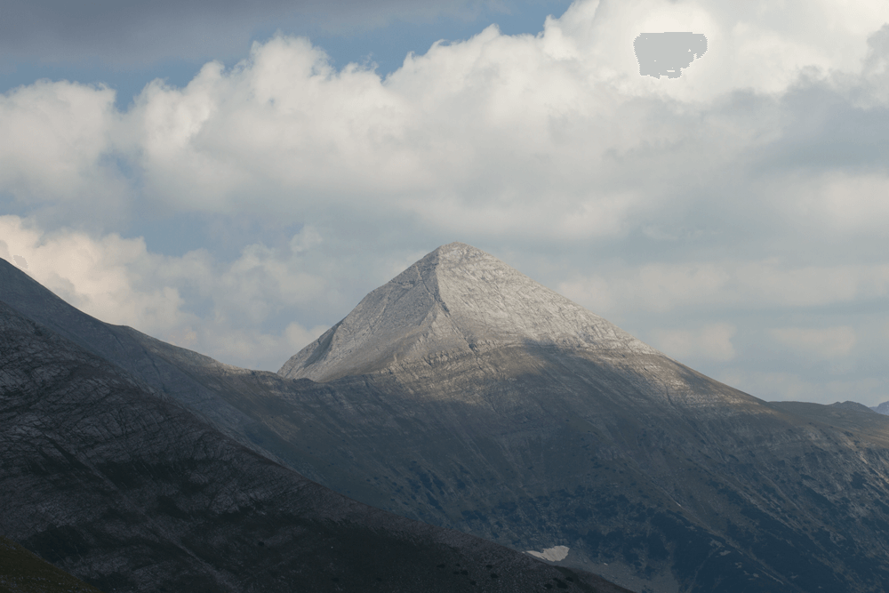 View from Bansko to Vihren Peak | Lucky Bansko SPA & Relax