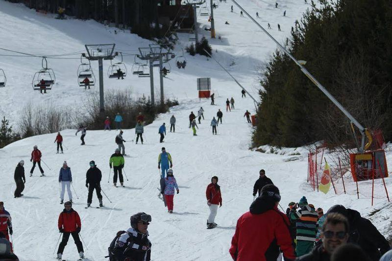 Лыжный склон в Банско | Lucky Bansko SPA & Relax