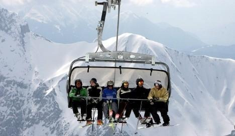 Picture of the chairlift in Bansko | Lucky Bansko SPA & Relax