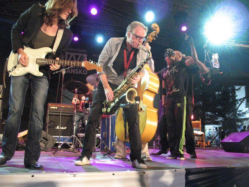 Φεστιβάλ Τζαζ Μπάνσκο - σαξόφωνο | Lucky Bansko