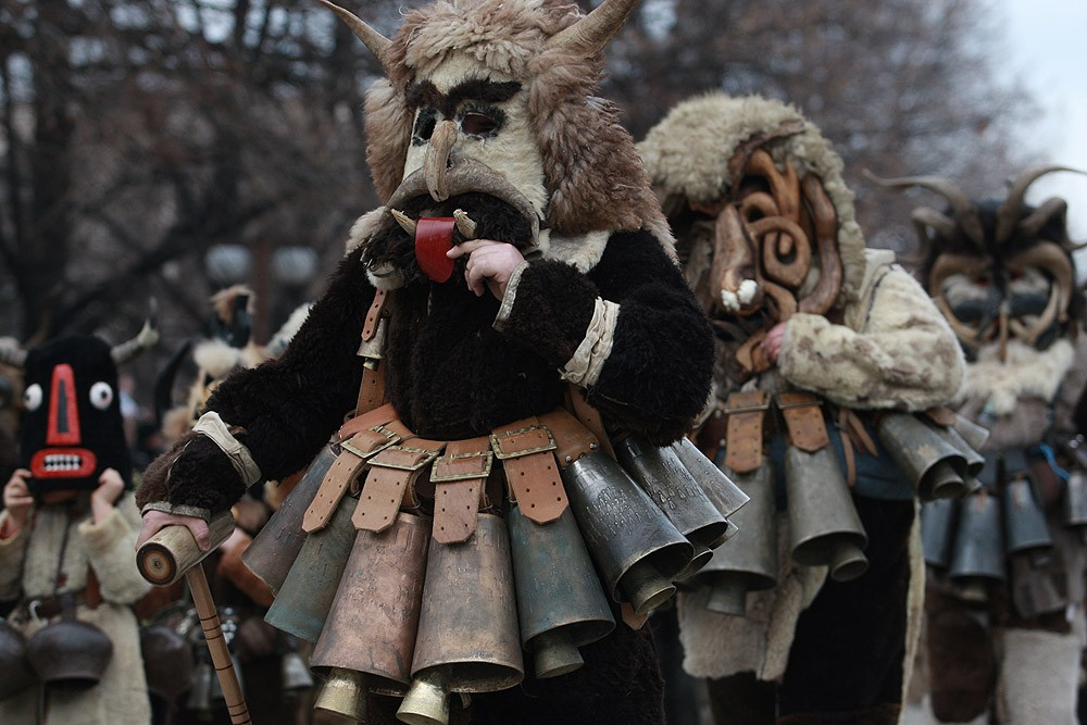 Bulgarian Kukeri on a Photo | Lucky Bansko SPA & Relax