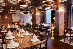 Ресторант Фондю интериор снимка | Lucky Bansko SPA & Relax
