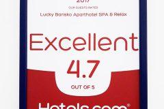 Лъки Банско с оценка 4.7 от 5 | Lucky Bansko SPA & Relax