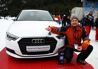 Won Audi in Bansko | Lucky Bansko