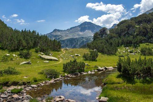 Планинска река | Лъки Банско