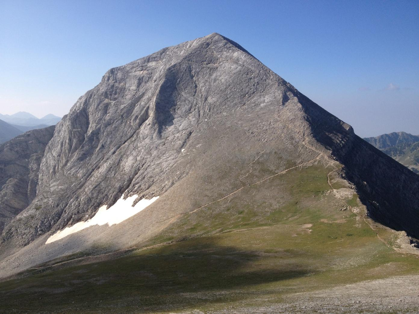 Geografia de vârf Vihren | Lucky Bansko