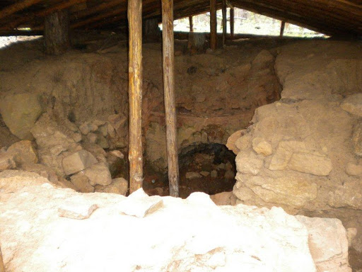 Ancient furnace in the village of Dobarsko
