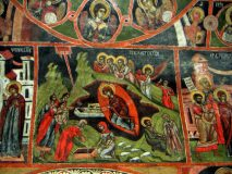 Иконопис в църква в село Добърско